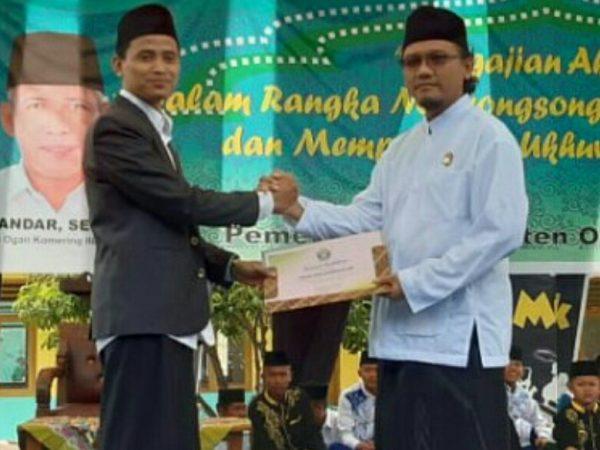 STAI Ash-Shiddiqiyah Berikan Beasiswa Spesial Bagi Anggota Pagar Nusa OKI