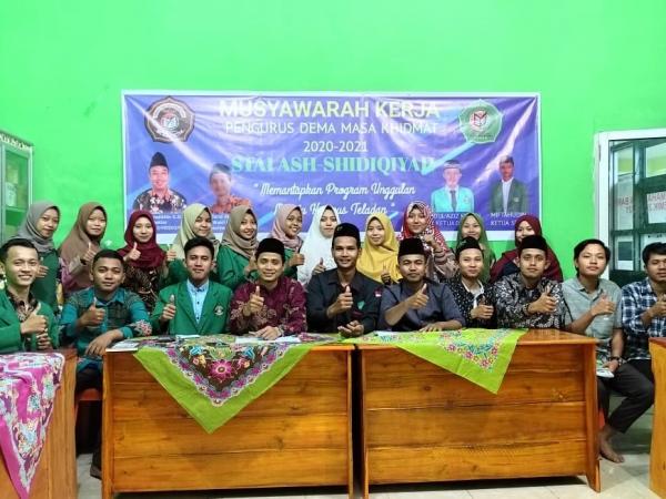 3 Pesan dari Ketua Stai As-Shiddiqiyah dalam Musyawarah kerja DEMA  Periode 2020-2021