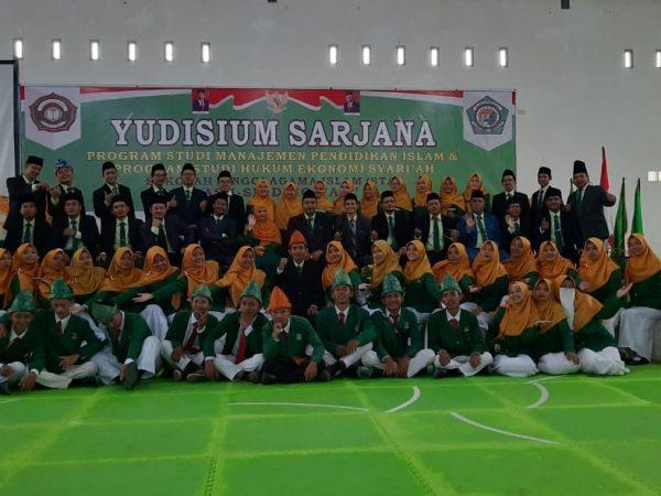 Alhamdulillah, Prosesi Yudisium STAI Ash-Shiddiqiyah Angkatan ke V Berjalan dengan Lancar
