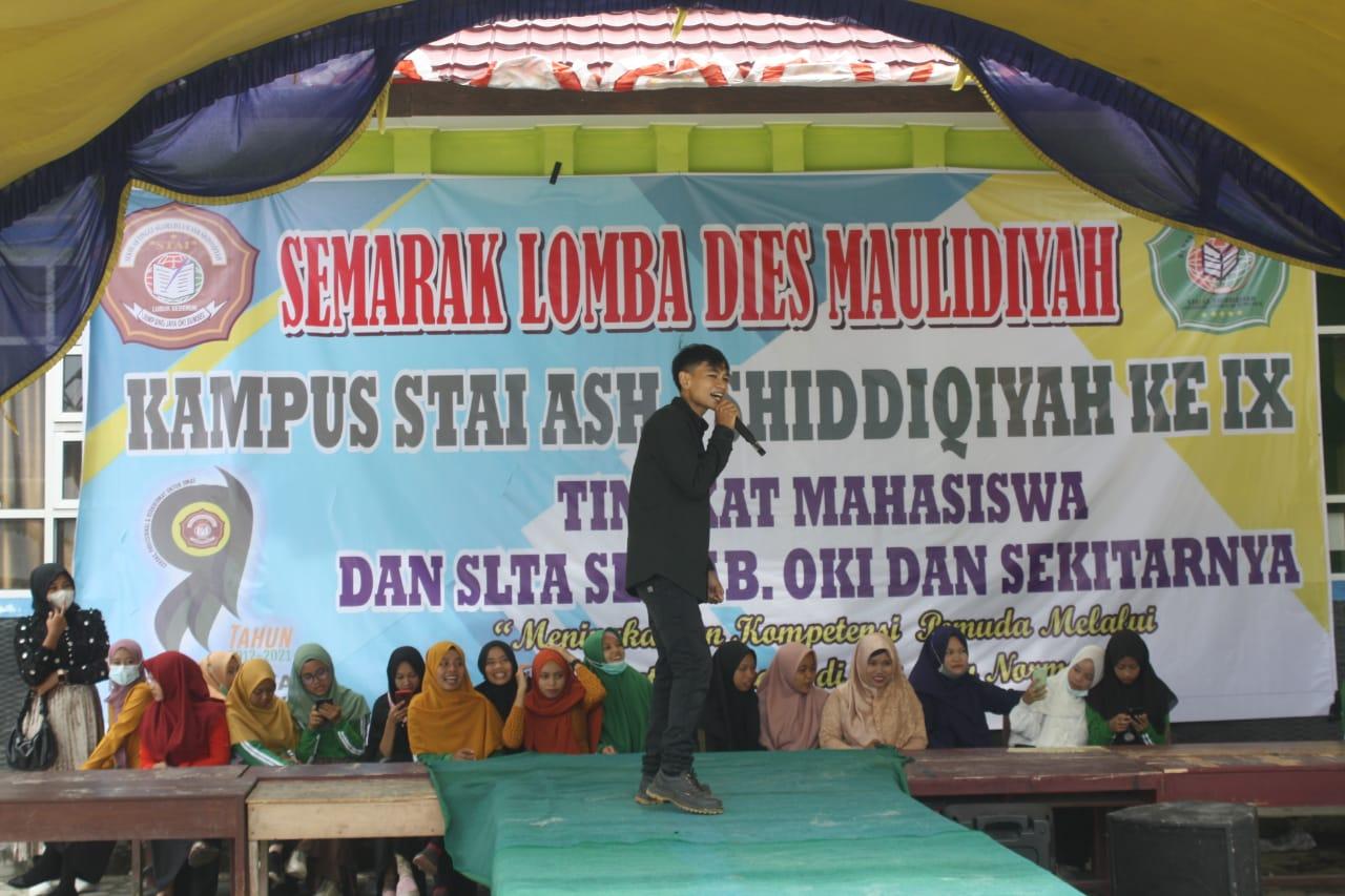 Semarak Dies Maulidiyah Ke-IX, STAI Ash-Shiddiqiyah Gelar Lomba Karaoke Antar Mahasiswa