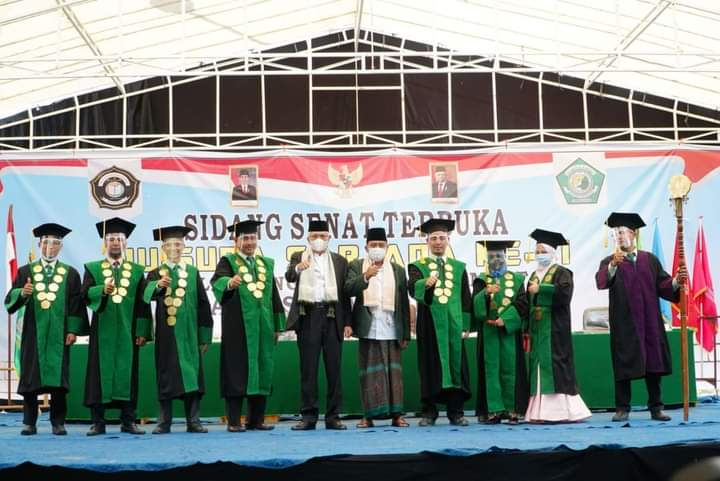 Wisuda Angkatan V dan VI STAI Ash-Shiddiqiyah di Hadiri Oleh Wakil Gubernur Sumatera Selatan