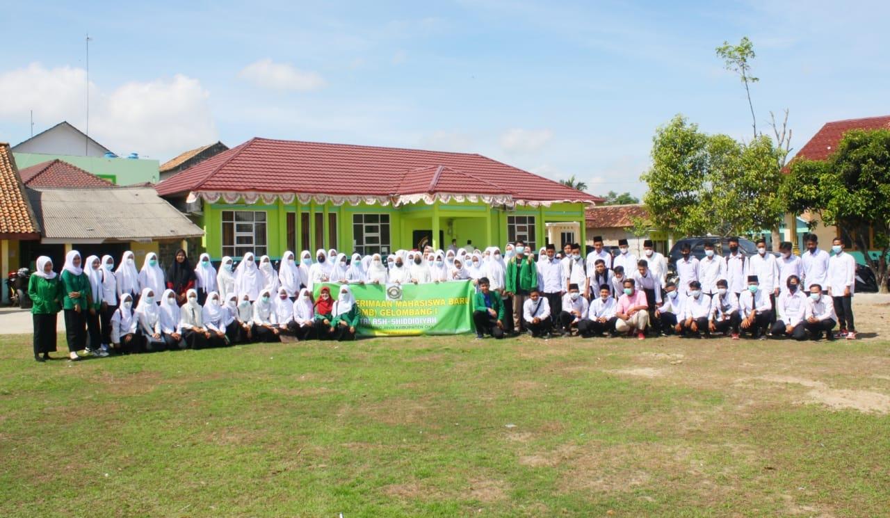 Ratusan Calon Mahasiswa Baru STAI Ash-Shiddiqiyah Ikuti Tes Gelombang I