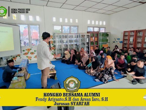 Mahasiswa STAI Ash-Shiddiqiyah Gelar Silaturrahmi Bersama Alumni