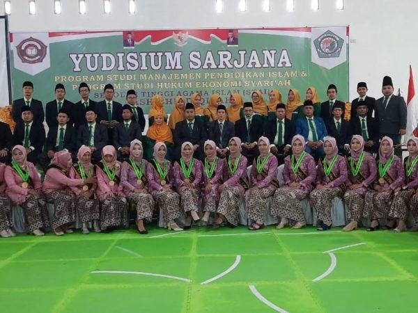 80 Calon Wisudawan STAI Ash-Shiddiqiyah Ikuti Prosesi Yudisium
