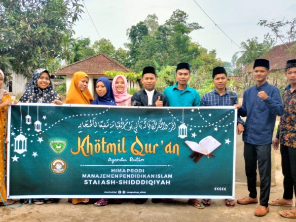 Meski Libur, Proker Hima Prodi MPI Khatmil Qur'an Tetap Berjalan