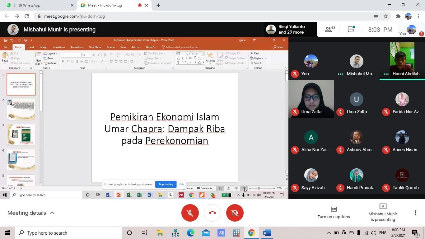 Dosen STAI Ash-Shiddiqiyah Menjadi Pembicara Diskusi Tematik ForSEBI UIN Sunan Kalijaga Yogyakarta