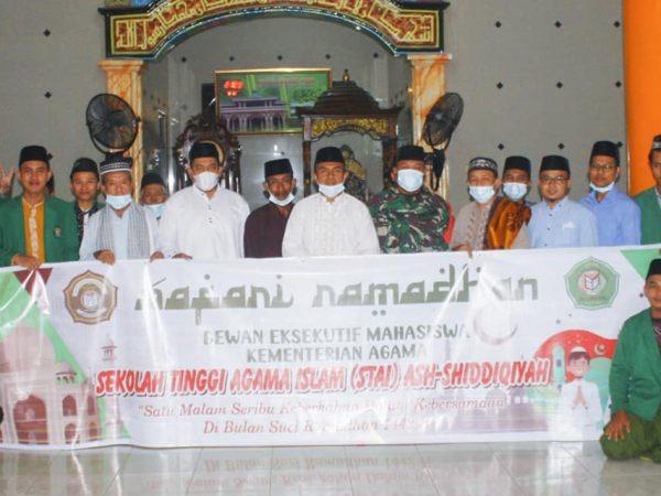 DEMA STAI Ash-Shiddiqiyah Adakan Safari Ramadhan di Masjid Fathul Huda