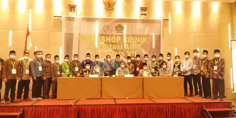 Pengelola dan Staf Pengajar STAI Ash-Shiddiqiyah Ikuti Workshop AIPT Kopertais VII Sumbagsel